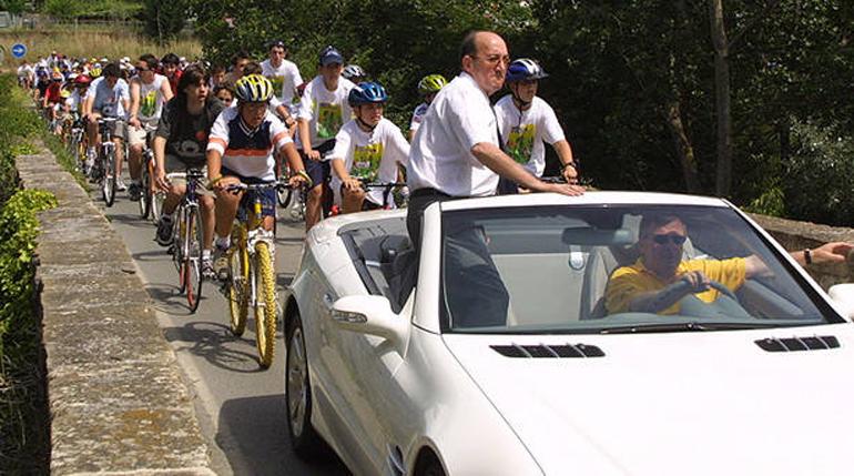 José Luis Oreja, máximo impulsor del ciclismo navarro en los últimos 40 años